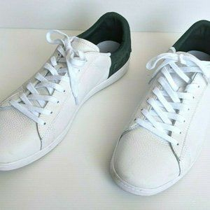 Lacoste Leather Sneakers White Mens Carnaby 419